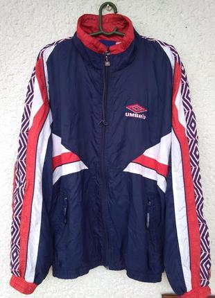 Ветровка umbro vtg vintage кофта мастерка размер l куртка