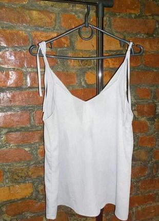 Обновка на весну! блуза топ кофточка майка в бельевом стиле river island