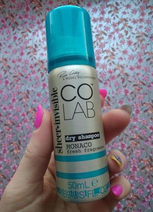 Colab monako сухой шампунь спрей для волос удобный новый