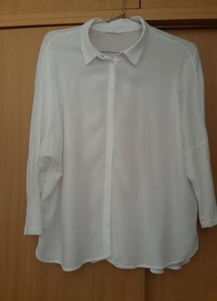 Качественная стильная рубашка блузка сорочка opus. оригинал