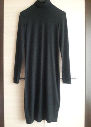 Сукня базова міді