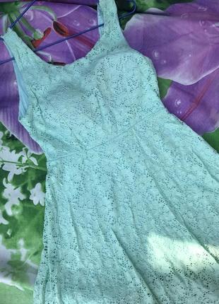 Сарафан платье с открытой спиной