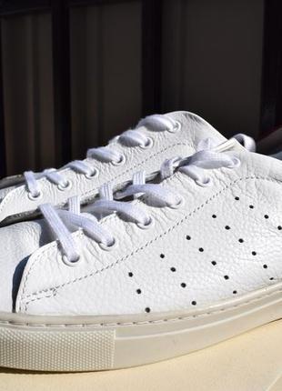 Кожаные кеды мокасины кроссовки туфли спортивные р.43