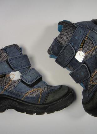 Зимние термо ботинки ecco gore-tex 29 р, 17,5 см