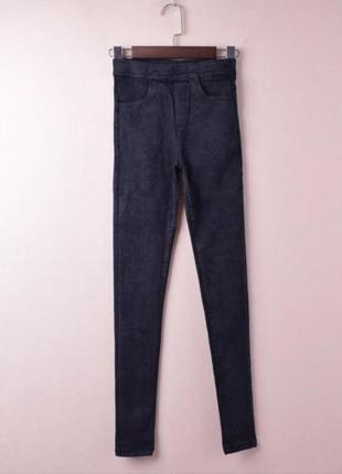 Женские джинсы-леггинсы