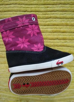 Деми сапоги see kai run,сапожки,чоботи,чобітки sneakers,ботинки