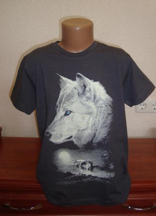 Футболка для мальчика волк