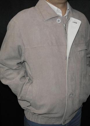 Jbc collection куртка мужская замш
