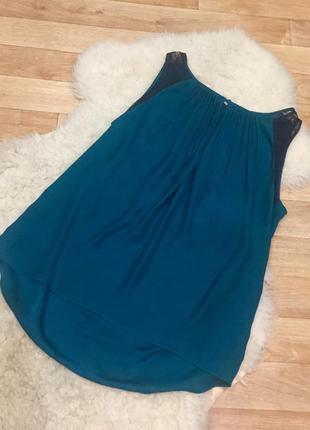 Шёлковая блуза топ sandro paris