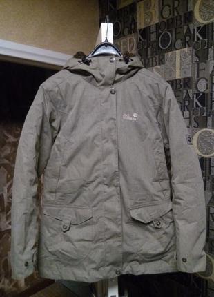 Jack wolfskin пуховая куртка парка