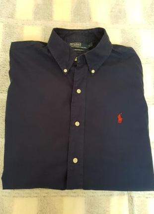 Мужская рубашка ralph lauren безрукавка