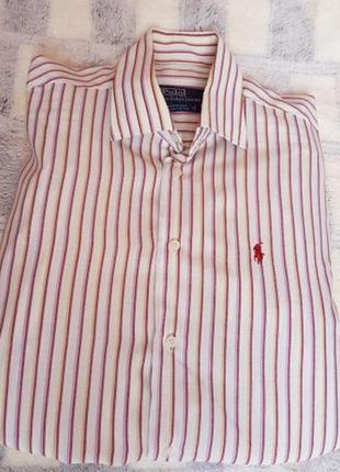 Легкая мужская рубашка ralph lauren