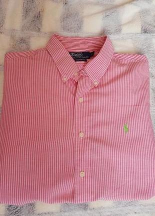 Легкая рубашка ralph lauren