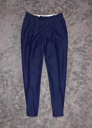 Классические брюки/цвет электрик/синий
