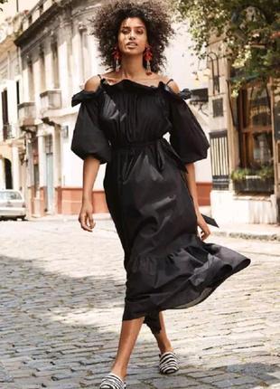 Шикарное платье. h&m conscious.4 фото