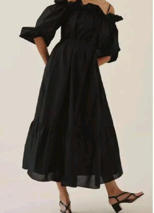 Шикарное платье. h&m conscious.8 фото