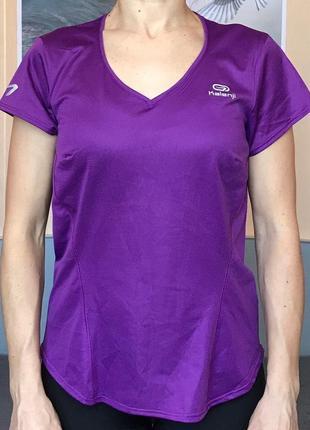 Спортивная футболка kalenji для спорта фитнеса