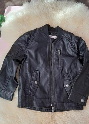 Косуха куртка деми h&m 4-5