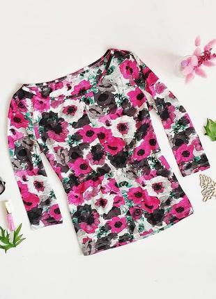 Очень красивая блуза в актуальный цветочный принт🌺