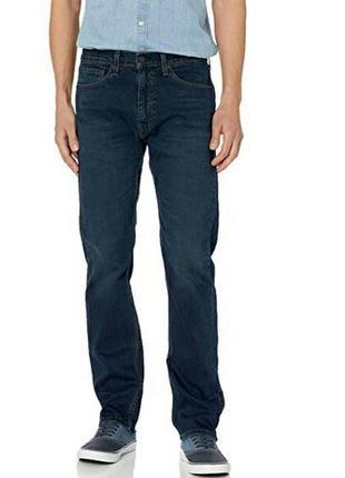 Мужские джинсы levi's 505 темно синие. оригинал с сша. размер 30/32