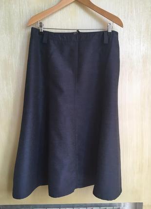 Летняя юбка-трапеция