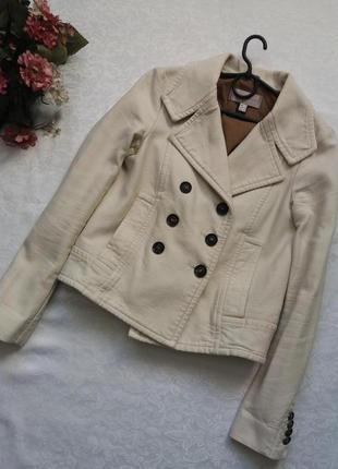 Коттоновая куртка жакет mango xs--42 размер.