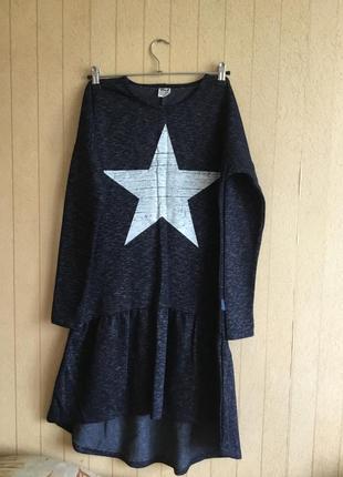 Подростковое  платье для девочек на рост 164