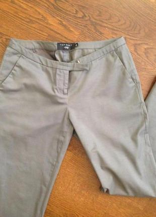 Продаю брюки ^дудочки^ .цвет -мокрый асфальт 38 размер top secret