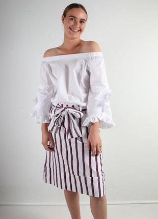 Monari белая блуза, м