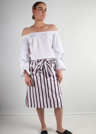 Monari белая блуза, м4 фото