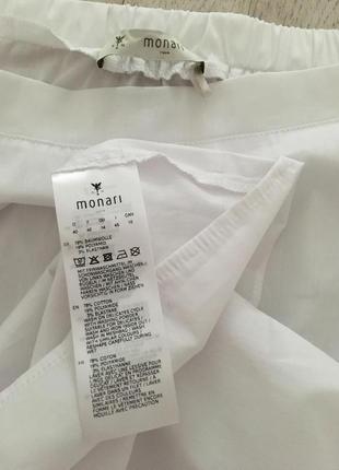 Monari белая блуза, м6 фото