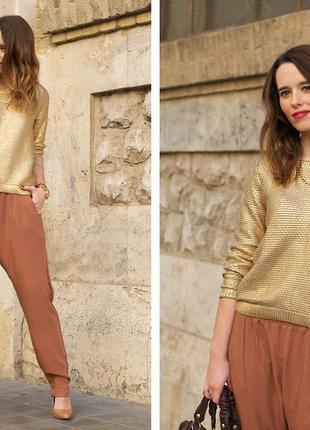 Золотой свитер 48-50 размер