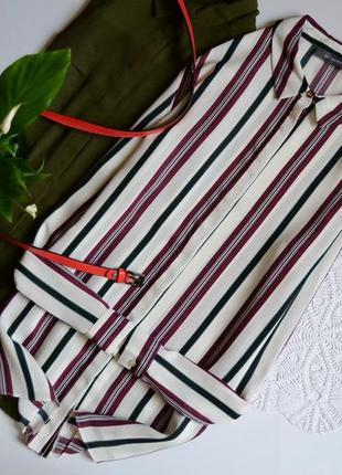 Блуза подовжена в полоску primark