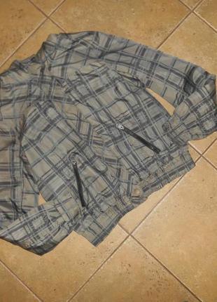 Утепленная куртка, ветровка на подростка 11-13 лет sublevel, италия
