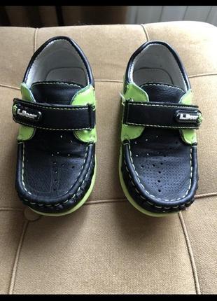 Туфлі на хлопчика1 фото