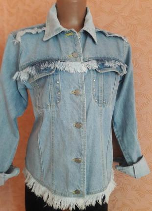 Актуальная джинсовая куртка