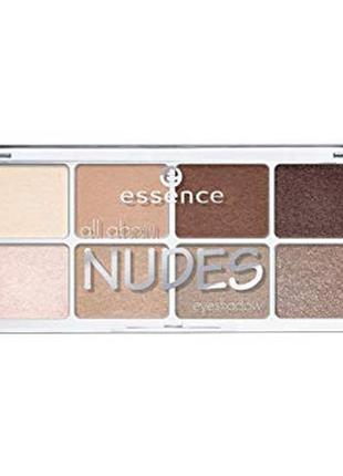Тени для век essense all about nudes 02