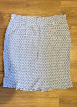 Лёгкая натуральная юбка в принт generous!!