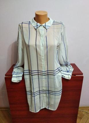 Подовжена класна сорочка