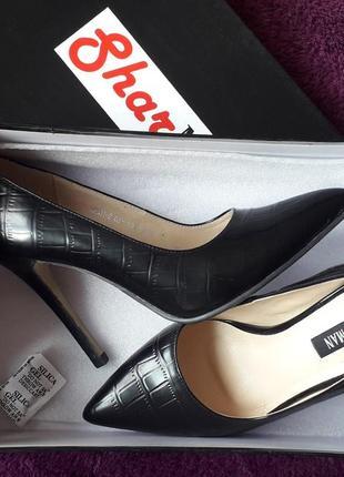 Туфли-лодочки,кожа,стелька-23см