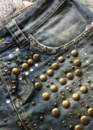 Amnesia юбка джинсовая3 фото