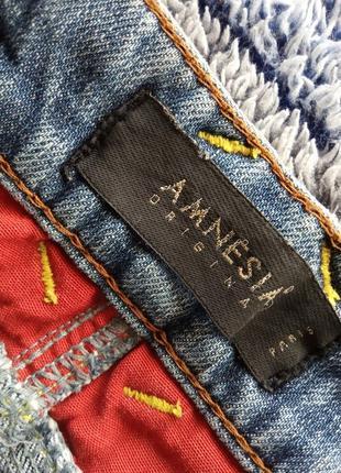 Amnesia юбка джинсовая4 фото