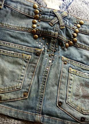 Amnesia юбка джинсовая5 фото