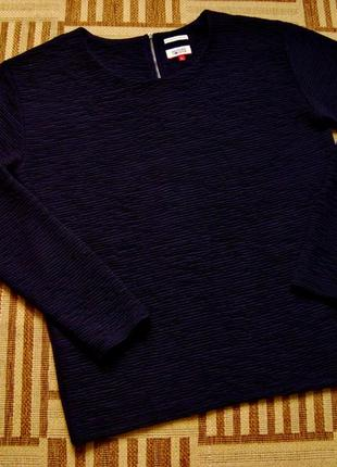 Tommy hilfiger denim, оверсайз, оригинал, джемпер, кофта, размер l-xl.