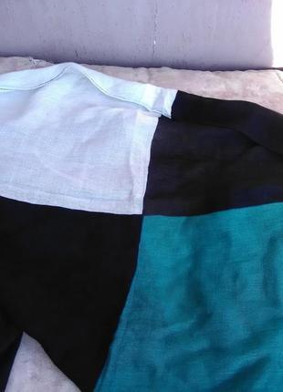 Разноцветный лёгкий шарфик