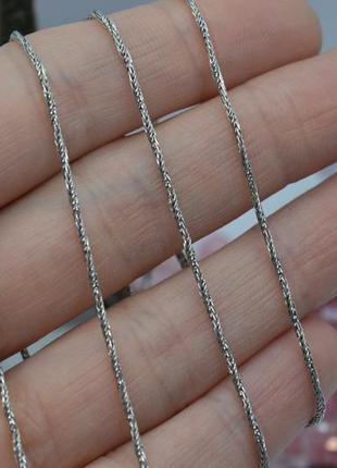 Серебряная #цепь, #цепочка, #ланцюжок, #snake, #снейк, #унисекс, 60см, 925