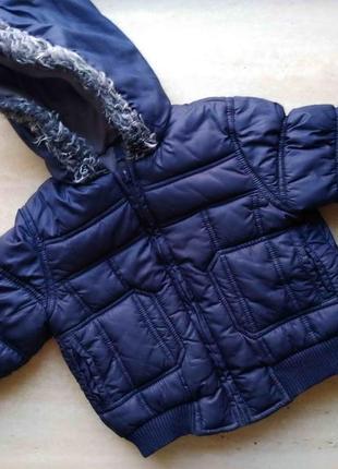 Куртка бомбер mothercare 18-24 месяца демисезонный в идеале