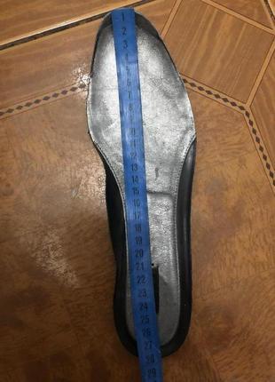 Комфортные кожаные туфли/мокасины ecco 42 размер 27,5 см стелька6 фото