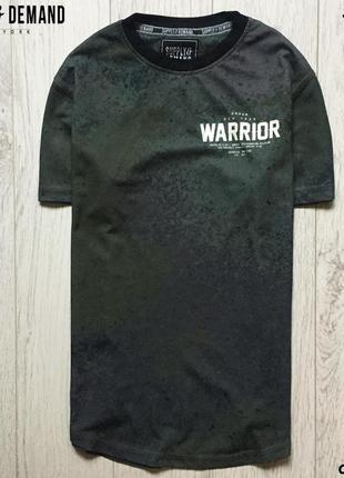 Мужская футболка supply&demand - по блэку, в сеточку
