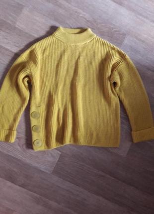 Кофта свитер  oversize 14р